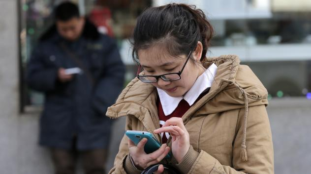 Analysts say so many people in China already have smartphones, to sell more units, manufacturers will have to convince them to upgrade.