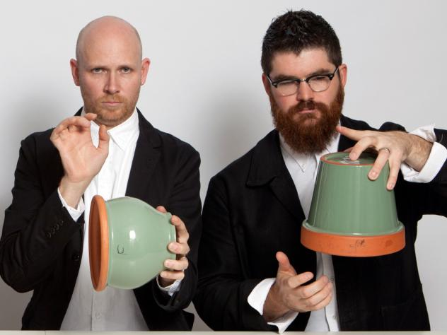 The members of Sō Percussion will bang on almost anything.