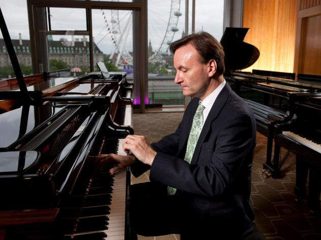 Pianist and composer Stephen Hough.