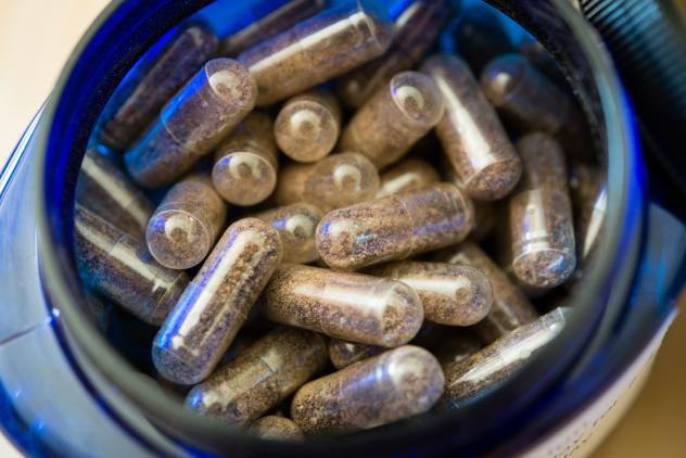 Pills are made from dehydrated placenta.