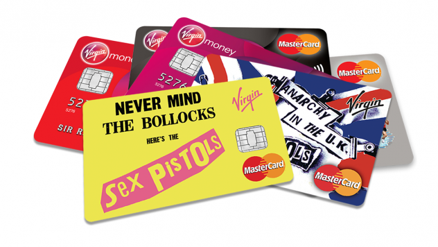 Anarchy and credit cards clearly go hand in hand.
