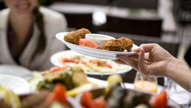 Eating at a full-service restaurant doesn't necessarily mean a more healthful meal than dining at the drive-through joint.