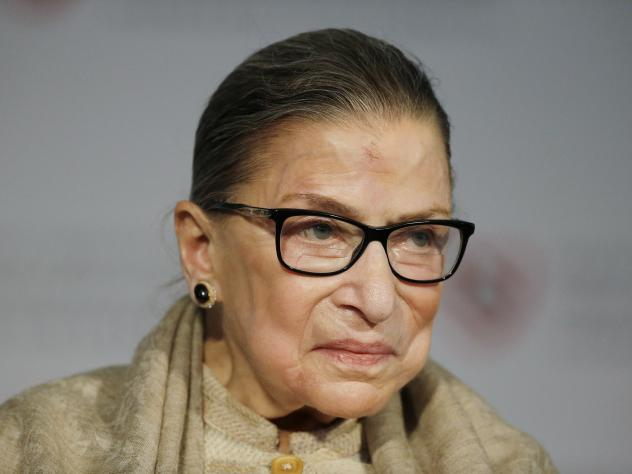 """Speaking about why her conservative colleagues wrote so many dissents this term, Justice Ruth Bader Ginsburg smiled and said: """"Next term I think you'll see some of my colleagues will be more disciplined."""""""