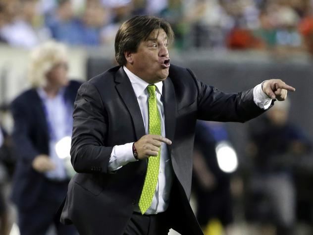 "<em>The Guardian</em> describes Mexico's fired coach, Miguel Herrera, as ""combustible."""