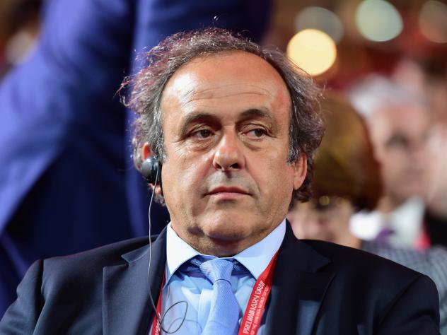 Michel Platini of Fance announced his campaign for FIFA president and is considered a strong candidate.
