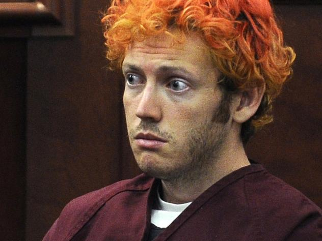 James Holmes, seen during his initial court appearance after the theater shooting spree in 2012, has been sentenced to life in prison without the possibility of parole.