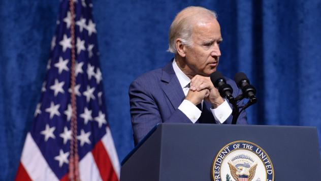 Vice President Joe Biden admitted Wednesday that he's seriously considering running for president, but has not made up his mind.