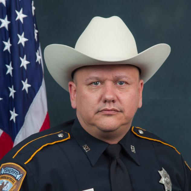 This undated photo provided by the Harris County Sheriff's Office shows sheriff's deputy Darren Goforth who was fatally shot Friday.