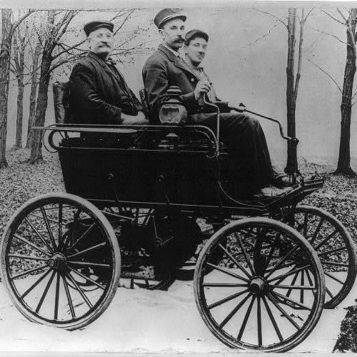 By 1905, <em>Automobiling</em> was even the name of a popular song — with sheet music.