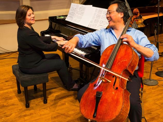 Yo-Yo Ma and Kathryn Stott's new album,<em> Songs From The Arc Of Life,</em> comes out Sept. 18.