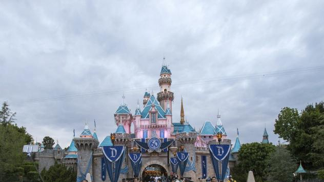 Restrictions on the airspace around Disneyland in Anaheim, Calif., prompted an Orange County contractor to cancel a plan to conduct aerial spraying Wednesday.