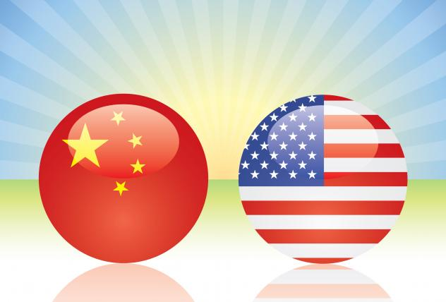 The International Monetary Fund says the U.S. and China have a combined annual gross domestic product of about $30 trillion.