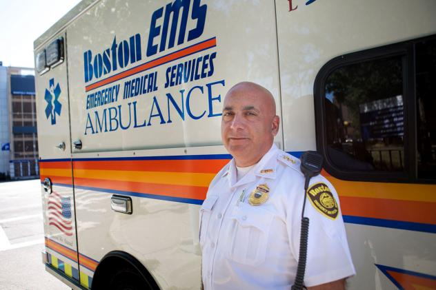Naloxone nasal spray, also known as Narcan, is used by emergency squads in Boston about three times a night to revive people who have overdosed while using heroin or opioid painkillers.
