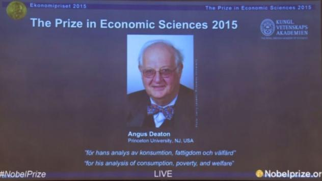 A professor at Princeton University since the 1980s, Angus Deaton has won this year's Nobel in economics for his work on poverty and consumption.