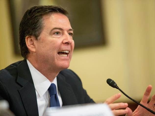 FBI Director James Comey says police restraint, born from increased scrutiny in the wake of high-profile police killings and evidence of racial bias, may be contributing to an uptick in violent crimes in some cities.