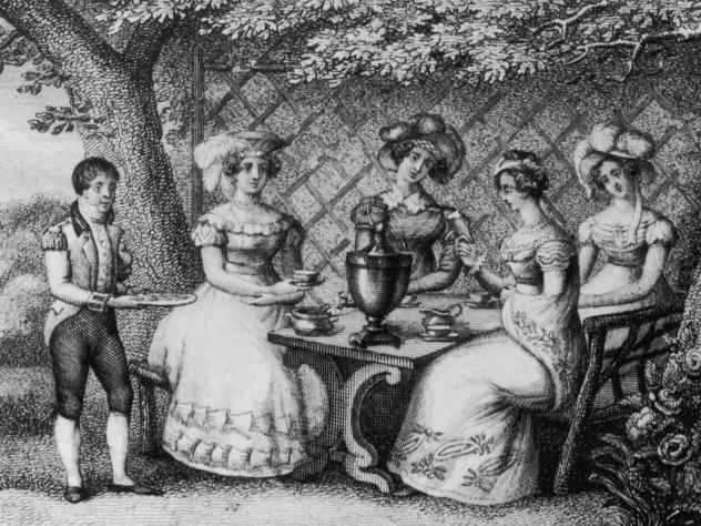 For centuries, tea drinking has been synonymous with female tittle-tattle — even though men drank just as much tea. Old dictionaries of English slang provide colorful proof of this association.