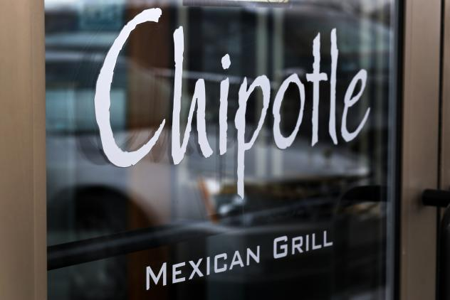 The logo of Chipotle Mexican Grill as seen outside a restaurant in Pennsylvania.