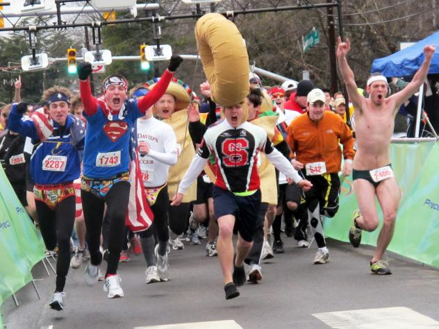 In October the student group behind the Krispy Kreme Challenge, an annual charity race in Raleigh, N.C., pledged to raise a total of $2 million for the race's namesake clinic and UNC Children's Hospital.