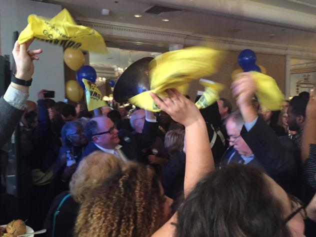 John Bel Edwards Edwards won the election for Louisiana governor Saturday, defeating the former favorite, Republican David Vitter, and giving Democrats their first statewide victory since 2008.