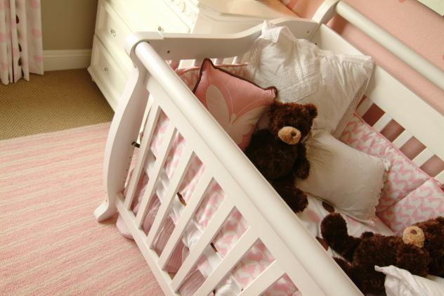 The safest choice is a crib with no bumpers, pillows or quilts, according to the CPSC.