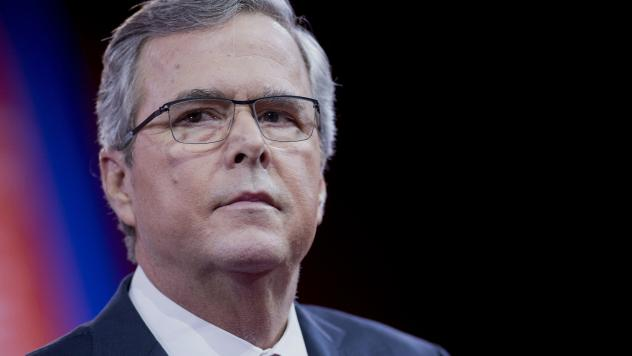 Former Florida Gov. Jeb Bush's superPAC is a juggernaut, raising well over $100 million. But he's sputtered in the GOP primary.