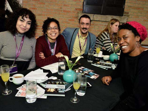 Guests attend the Film Independent Brunch during the 2016 Sundance Film Festival.