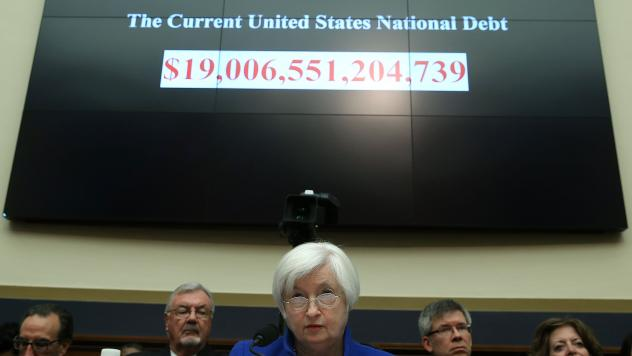 Federal Reserve Board Chair Janet Yellen listens to questions during a House Financial Services Committee hearing on Capitol Hill on Wednesday. Delivering the Federal Reserve's semiannual Monetary Policy Report to the House Committee, Yellen aired cautio