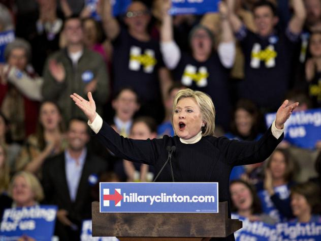 Hillary Clinton, former secretary of state and 2016 Democratic presidential candidate, speaks after losing the New Hampshire primary to Bernie Sanders. But could she still win?