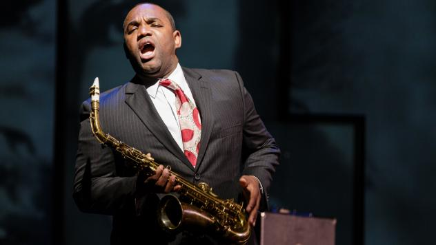 Tenor Lawrence Brownlee plays the title role in the new opera <em>Charlie Parker's Yardbird.</em>