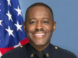 Delrish Moss was chosen as the new police chief for the city of Ferguson, Mo.