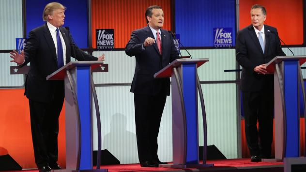 Three Republican candidates, a wide range of political beliefs. Could that be a problem come November?