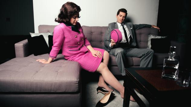 Daniela Mack and Matthew Worth star as First Lady and President Kennedy in a new show at the Fort Worth Opera, <em>JFK.</em>