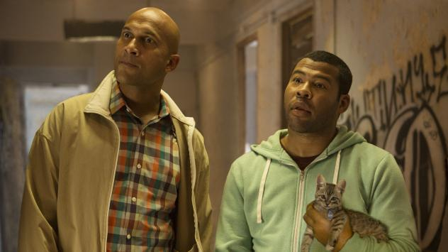 Keegan-Michael Key and Jordan Peele in <em>Keanu</em>.