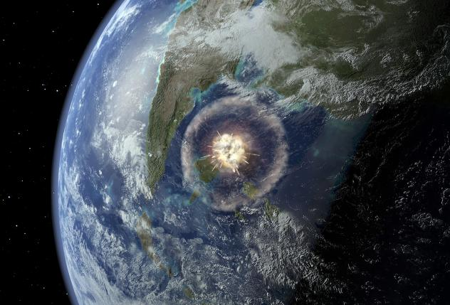 Scientists on Myrtle have been drilling around-the-clock. This week, they finally reached a buried ring of mountains created by the asteroid.