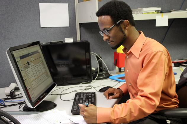 Gerald Franklin, who was diagnosed with autism as a child, is now lead developer for a website that matches workers with prospective employers. Job-related videos, he says, can help people with special needs showcase their talent.