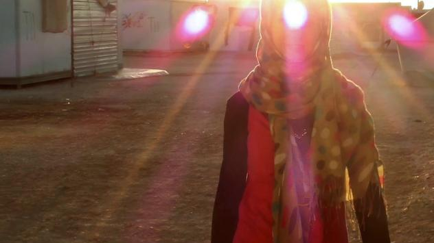 She filmed her friends going about their daily routine in the camp.