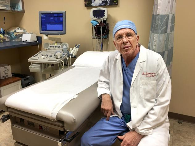Dr. Bernard Rosenfeld, 74, has not been able to find a successor to lead his abortion practice in Houston. He says younger doctors don't want to deal with the politics and protesters.