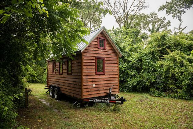 """A """"tiny house"""" in Richmond, Virginia in 2015."""