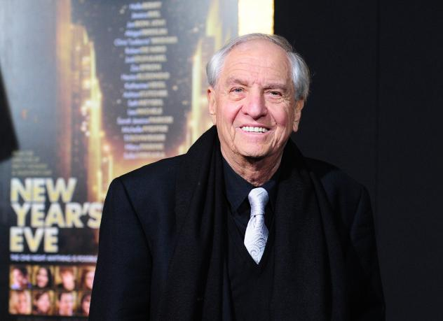 Director Garry Marshall, shown at the film premiere of <em>New Year's Eve</em> in Hollywood in 2011, has died at 81.