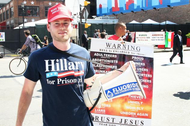 Bob Koontz, from Florida, is concerned about one thing: the Islamic State. Trump, he says, will handle it.