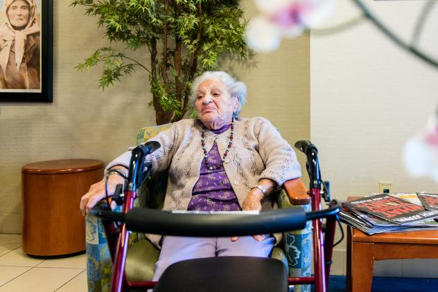 Herb Schwartz, a former computer program analyst, and his wife rely on Medi-Cal to pay for their care at the Los Angeles Jewish Home in Reseda, Calif. They moved there after he suffered a fall.