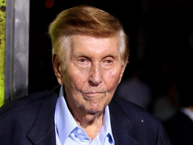 Sumner Redstone, seen in 2012, has ousted Philippe Daumon, the executive chairman, president and CEO of Redstone's family media conglomerate Viacom.