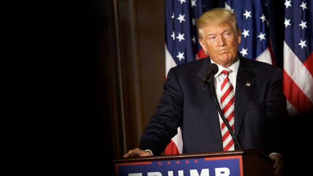 Donald Trump and his joint fundraising committees raised $90 million last month.