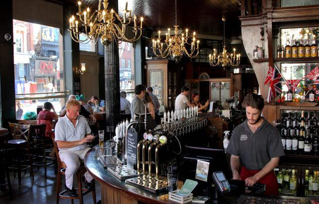 Many pubs, including this one, have closed down in Wandsworth over the years. People blame high beer prices, changing social habits and rising real estate values for the loss of thousands of venues.