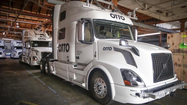 As the technology improves and expands for self-driving cars, Alain Kornhauser says that does not mean the trucks will be driverless. It's likely a trucker will still sit in the driver's seat ready to take control should something go wrong.