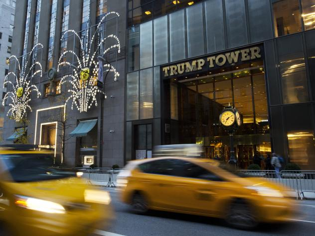 Media executives and anchors met from the top five TV networks met with the president-elect at Trump Tower on Monday.