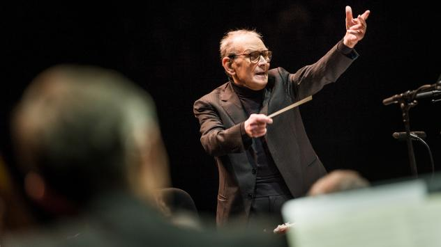Ennio Morricone's new recording with the Czech National Symphony Orchestra, <em>Morricone 60</em>, is out now.