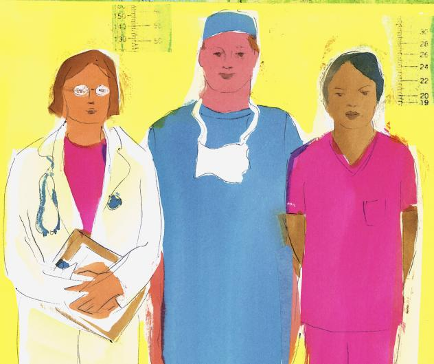 Elderly hospitalized patients taken care of by female doctors had better results than those seen by male doctors.
