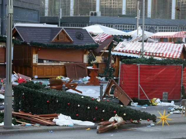 The Christmas market in Berlin was targeted in Monday's attack by a man driving a heavy truck into the area, then crowded with shoppers.