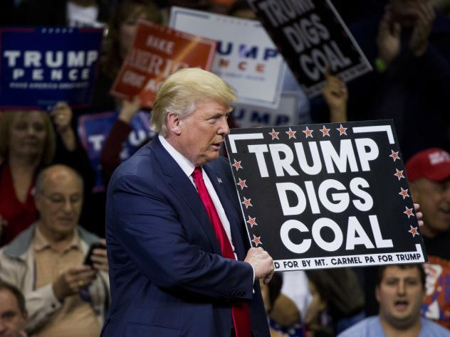 President-elect Donald Trump's promises to bring back miner jobs and open mines again appealed to many voters in coal country.